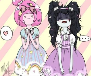 adventure time, marceline, and kawaii image