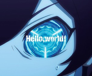 anime, kekkai sensen, and eye image