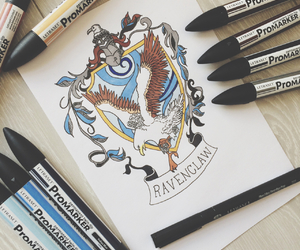 clever, draw, and gryffindor image