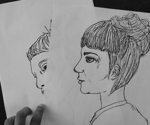 Claire, draw, and drawing image