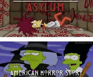 simpsons, coven, and american horror story image