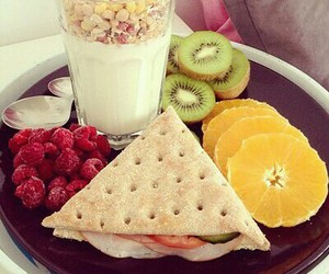 food, healthy, and kiwis image