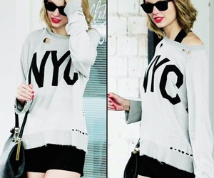 Taylor Swift, nyc, and style image