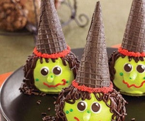 Halloween, witch, and food image