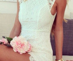 blond, curly, and lace image