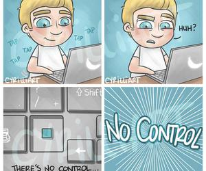 niall horan, one direction, and no control image