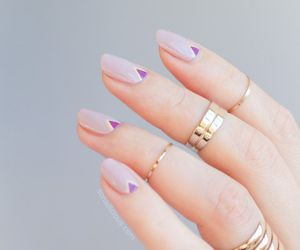 beautiful, nails, and french manicure image