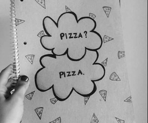 pizza, food, and the fault in our stars image