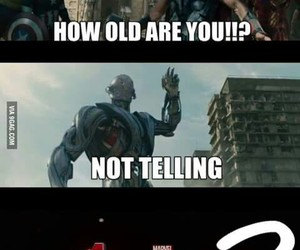 age of ultron, Avengers, and funny image