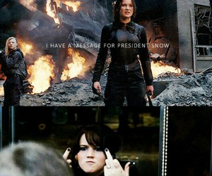 funny, hunger games, and Jennifer Lawrence image