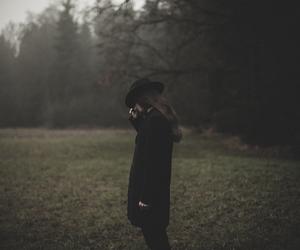 dark, goth, and guy image