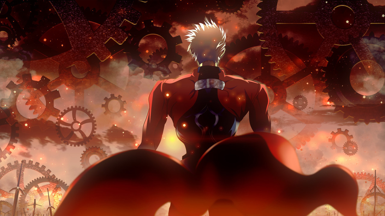 Archer Fate Stay Night Unlimited Blade Works Wallpaper Buscar