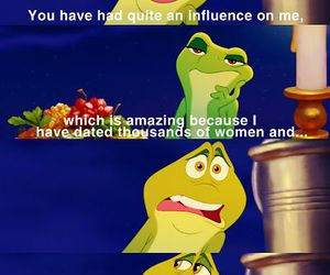 disney, funny, and the Princess and the frog image