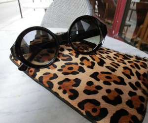 clutch, sunglasses, and sunnies image