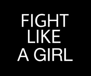 fight, girl, and like image