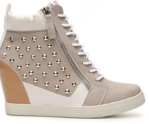 shoes, sneakers, and wedge sneakers image