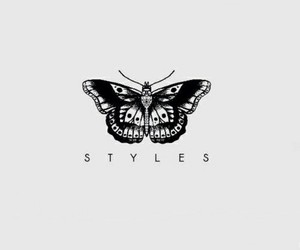 styles, harry, and tattoo image