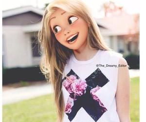 pretty, disney, and rapunzel image