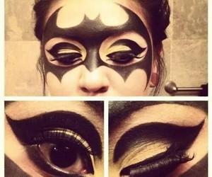 batman, Halloween, and makeup image