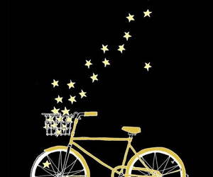 stars and bicycle image