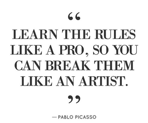 Pablo Picasso, quote, and citation image