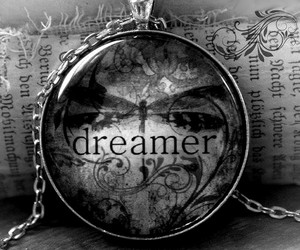 dreamer and black and white image