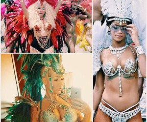 Amber Rose, carnaval, and flawless image