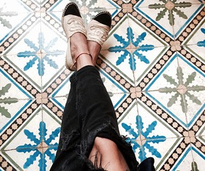 shoes and chanel espadrilles image