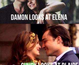 bella, blair, and chuck image