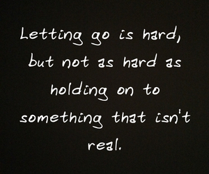 hold on, let go, and move on image