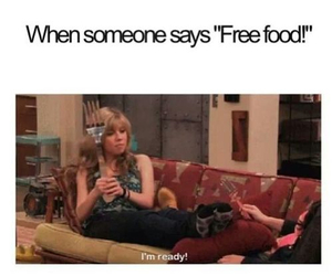 food, icarly, and funny image