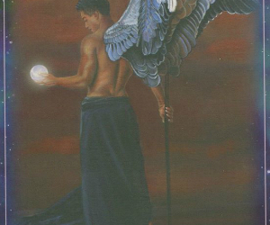 doreen virtue, free online card readings, and angel cards image