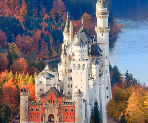 castle, germany, and autumn image