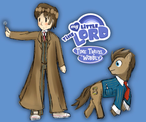 doctor who and MLP image