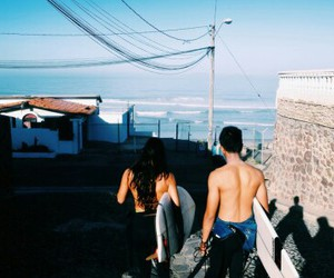 fun, surfing, and people image