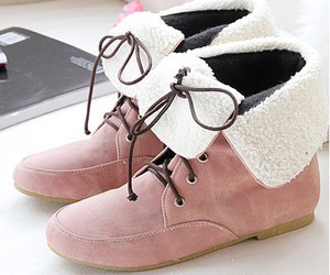 military, pink, and shoes image
