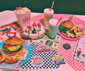 food, retro, and vintage image