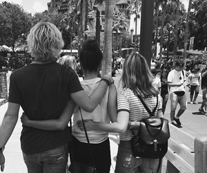 maia mitchell, ross lynch, and best friends image
