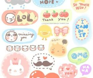 cute, kawaii, and drawing image