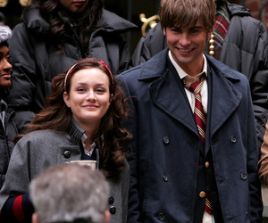 gossip girl, nate archibald, and blair waldorf image