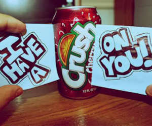 crush, soda, and you image