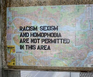 homophobia, racism, and sexism image
