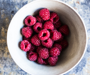 raspberry, food, and berries image