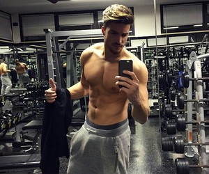 boy, fitness, and sexy image