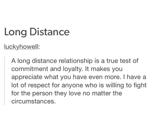 appreciate, long distance, and relationships image