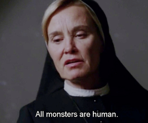 monster, ahs, and american horror story image