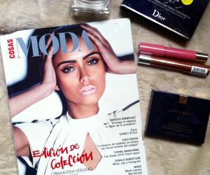 dior, estee lauder, and fashion image