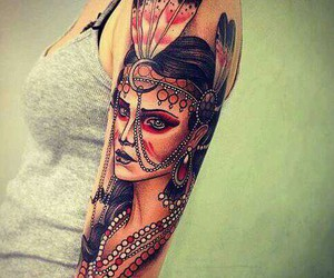 tattoo and indian image
