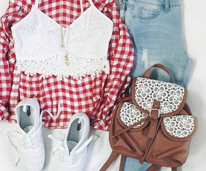 fashion, bag, and necklace image