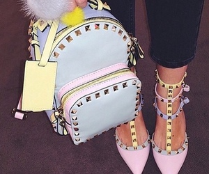 fashion, high heels, and pastels image